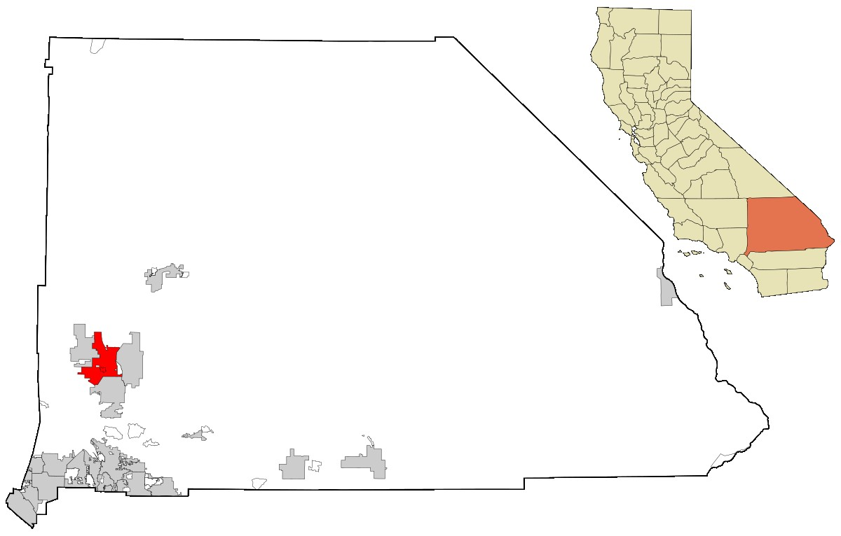 1200px San Bernardino County California Incorporated And Unincorporated Areas Victorville Highlighted Svg 17 Victorville Zip