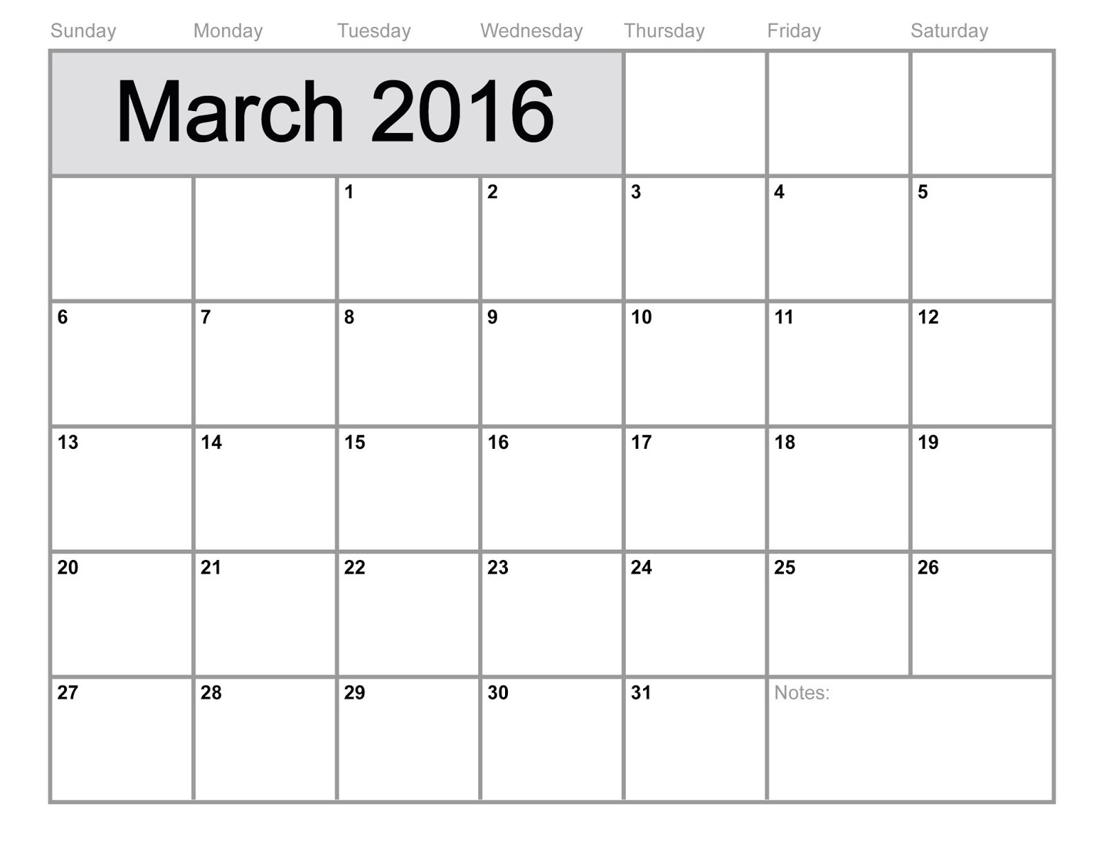 Calendar For March  2 12 Free Printable Calendar March